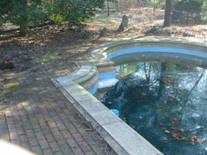Existing Pool Coping
